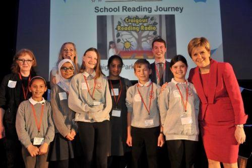 School reading challenge with Nicola S